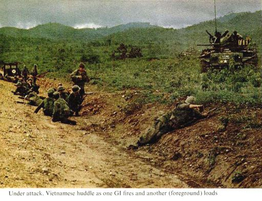 3-LIFE Magazine pictures of NVA ambush outside DAK TO