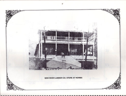 New River Lumber Company Store at Norma