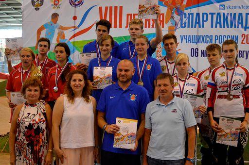 Сборная СПб - победитель эстафеты
