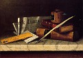 Still Life with Letter to Thomas B. Clark [1879]